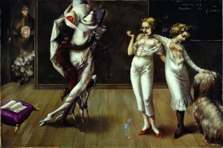 Interior With Sudden Joy Dorothea Tanning