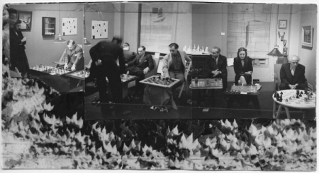 <i>Chess Tournament at Julien Levy Gallery, January 6, 1945</i>