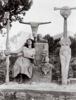 Max Ernst and Dorothea Tanning in Sedona with Capricorn, 1946