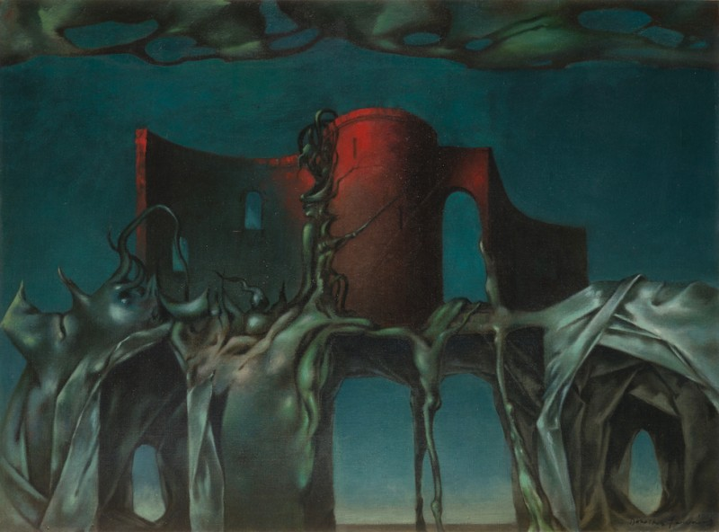 Set design for <i>The Witch,</i><i> </i>a ballet by John Cranko